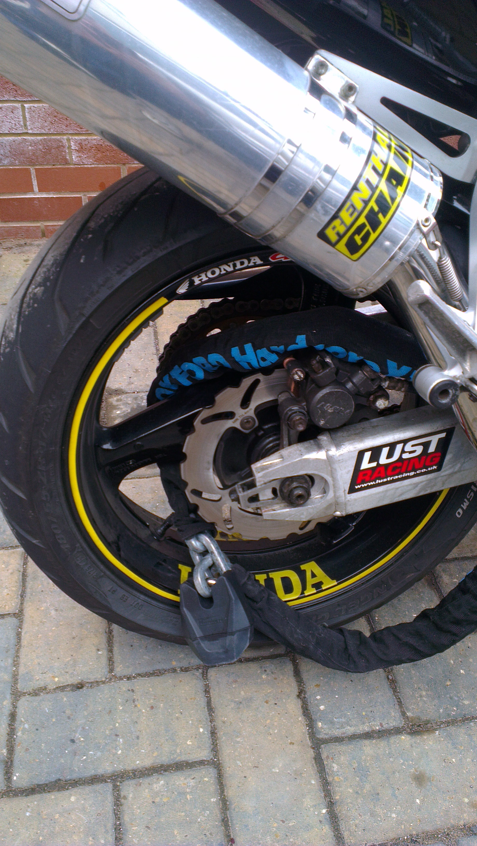 Check out my new stoppers can 39 t wait to fit cbr for Honda northern blvd